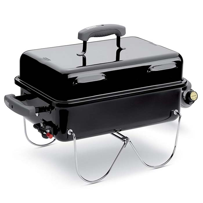 Weber 1141001 Go-Anywhere Gas Grill, ONE Size