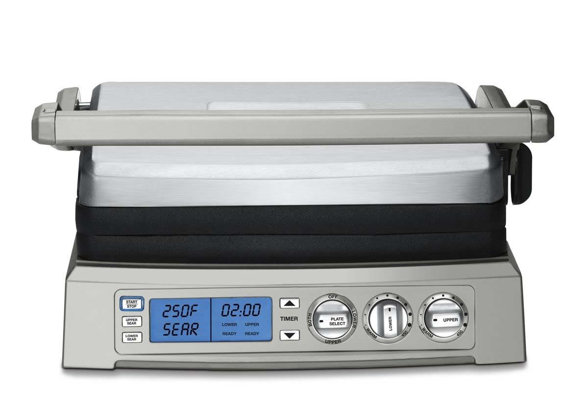 Cuisinart GR-300WSP1 Griddler, Elite, Silver