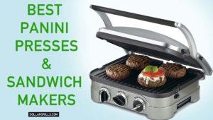 Top 9 Best Panini Presses & Sandwich Makers
