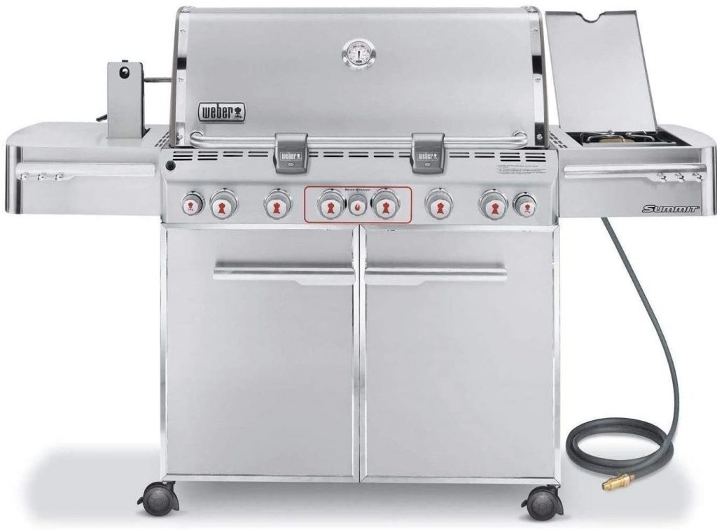 Weber Summit S-670 6 burner gas grill